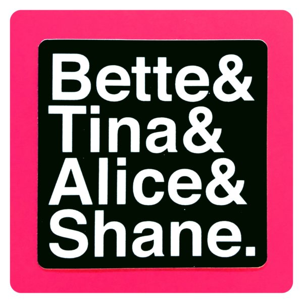 The L Word Names Sticker