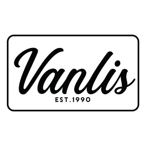 Vanlis White Sticker