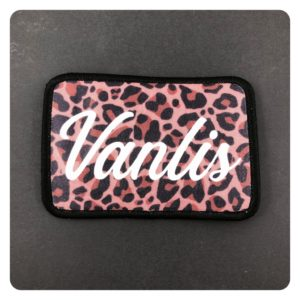 Vanlis Leopard Print Iron On Patch