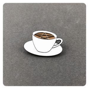 Vanlis Coffee Coven Pin