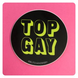 Top Gay Sticker