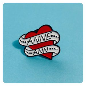 Gentleman Jack Anne Lister Ann Walker Sweetheart Pin